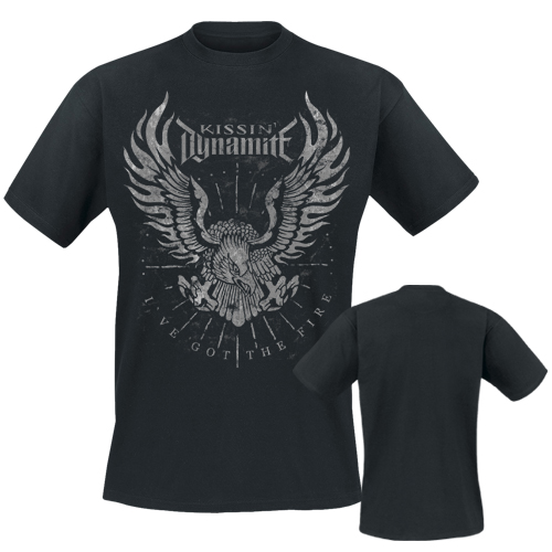 KISSIN` DYNAMITE - T-Shirt - I`ve Got The Fire