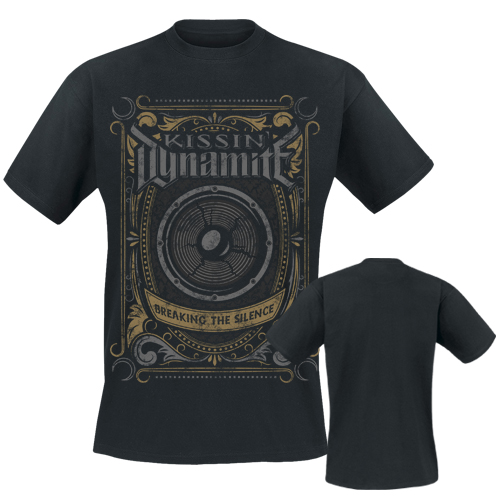 KISSIN` DYNAMITE - T-Shirt - Breaking The Silence