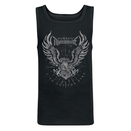 KISSIN` DYNAMITE - Girlie Tank Top - I`ve Got The Fire