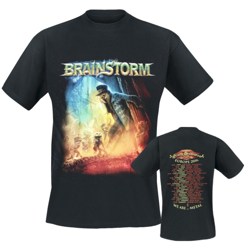 BRAINSTORM - T-Shirt - Scary Creatures Tour 2016