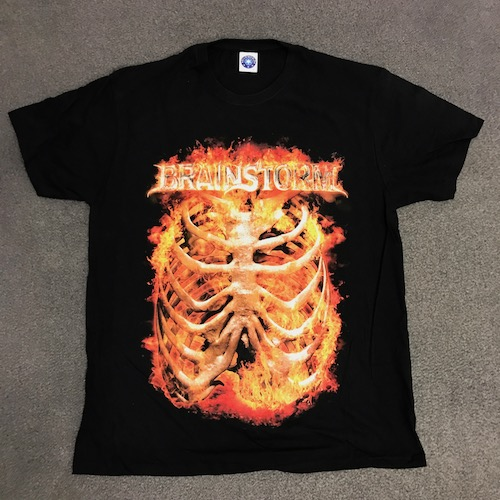 BRAINSTORM - T-Shirt - Rip Cage
