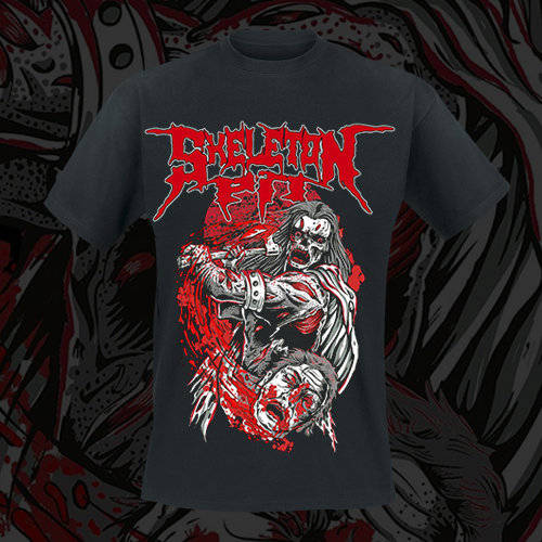 SKELETON PIT - T-Shirt - Head Off